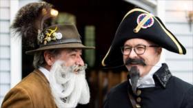 Vean el torneo mundial de barbas y bigotes en Alemania