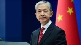 China: EEUU debe dejar de enviar señales erróneas a Taiwán