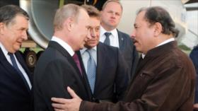 Ortega afea a EEUU y ensalza apoyo militar de Rusia a Nicaragua