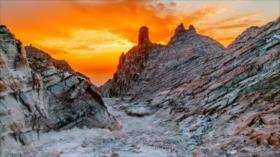 Fotos: La montaña de sal en sur de Irán, un fenómeno natural único