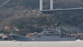 Buque más rápido de Rusia realiza prácticas de tiro en el mar Negro