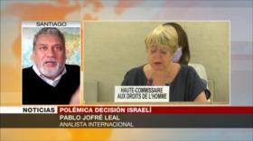 Jofré Leal: ONU está supeditada a EEUU en el caso de Israel