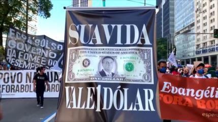 Bolsonaro, acusado de genocidio y crímenes contra la humanidad