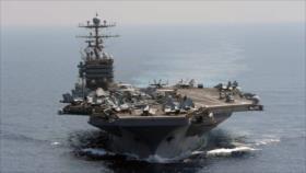 Informe: Minas navales de Irán pueden hundir portaviones de EEUU