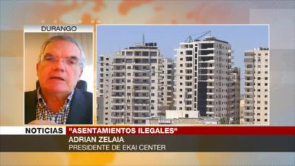 Zelaia: Construir otras viviendas tendrá alto costo para Israel