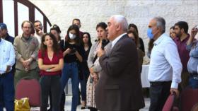 Activistas israelíes se solidarizan con entidades palestinas