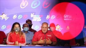 """Diosdado Cabello augura """"victoria aplastante"""" del chavismo el 21-N"""