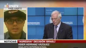 Vázquez: Israel demoniza a ONG palestinas por revelar sus crímenes