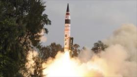 India desafía a China con misil nuclear con un alcance de 5000 km