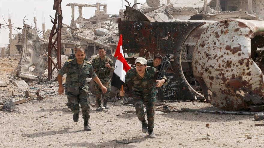 Siria seguirá luchando contra el terrorismo y la ocupación israelí